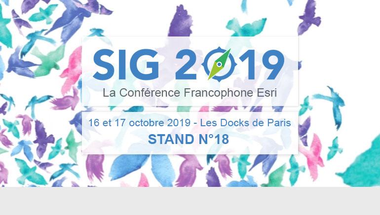 SIG 2019 – Conférence francophone ESRI