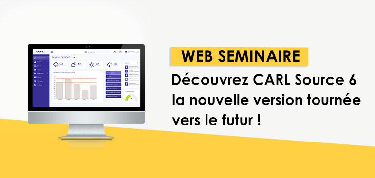 [Replay web séminaire] Découvrez la GMAO CARL Source 6 !