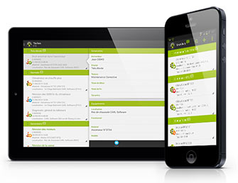 Application mobile CARL Touch