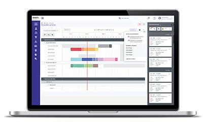 GMAO : Planification graphique des ressources et matériels