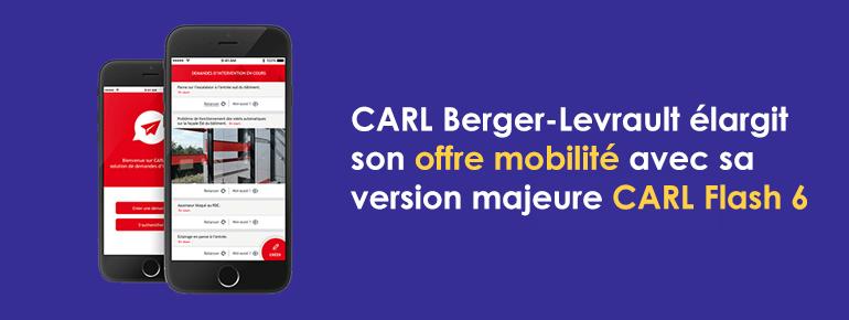 CARL Berger-Levrault élargit son offre « Mobilité » avec sa version majeure CARL Flash 6