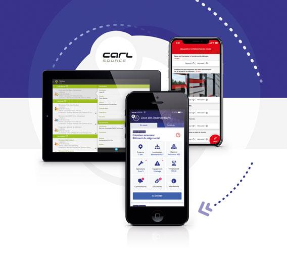 Applications mobiles de GMAO et maintenance des équipements.